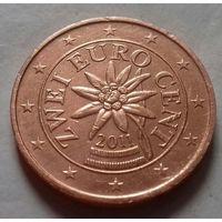 2 евроцента, Австрия 2011 г.