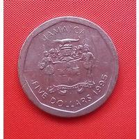 57-16 Ямайка, 5 долларов 1995 г.