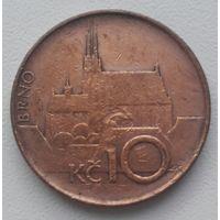 Чехия 10 крон 1993 НМ, KM#4