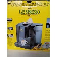 Автоматическая кофемашина эспрессо на капсулах системы Malongo. 16 BARS.Производитель Malongo Rombouts.Бельгия.