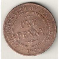 Австралия 1 пенни 1920 2