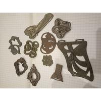 Коллекция красивых старинных пряжек