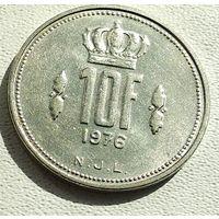 Люксембург 10 франков, 1976 4-16-2