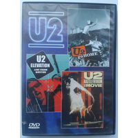 "U2 ""Go Home"", ""Elevation"", Rattle And Hum"", (DVD10)"