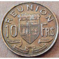 13. Реньен 10 франков 1962 год*