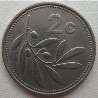 Мальта 2 цента 1998 г. (g)