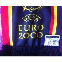 Шарф EURO 2000 Голландия-Бельгия Лицензия