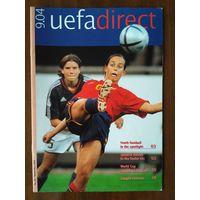 Журнал UEFA direct 9-2004
