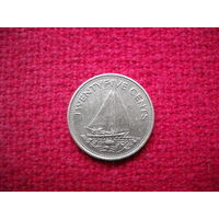 Багамские острова 25 центов 1979 г.