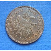 Новая Зеландия 1 пенни 1940 Георг VI
