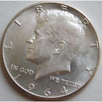 16. США 1/2 доллара 1964 год, серебро*