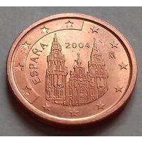 2 евроцента, Испания 2004 г., AU