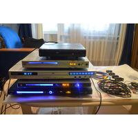 DVD-плееры 5 штук.( 3 Витязя+Supra+Avest) есть с караоке+провода+разъемы.