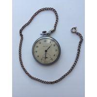 Карманные часы Молния. Могут пройти 5 минут и остановиться, а могут и через 5 часов. Спешат.