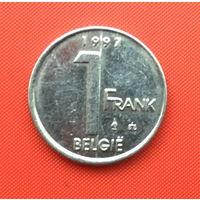 Бельгия, 1 франк 1997 г. Фламандский тип. Распродажа!