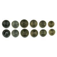 Македония НАБОР 6 монет 1993-2008 UNC