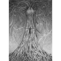 """Иллюстрация к роману """"Гиперион"""". Дерево Тесла. Размер А3. Автор Крис"""