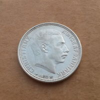 Дания, 2 кроны 1930 г., серебро, 60 лет королю Христиану Х