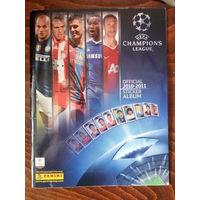 Журнал для наклеек Лига Чемпионов(League Champions 2010-2011)