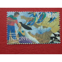 Индонезия 2005г. Искусство.