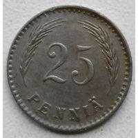 Финляндия 25 пенни 1921