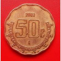 52-14 Мексика, 50 сентаво 2003 г.