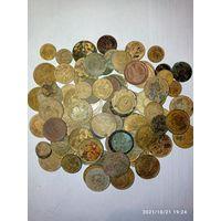 90 монет СССР медь до реформы