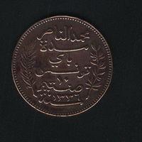 10 сантимов 1917 г. Французский Тунис.