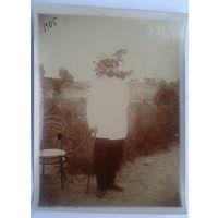 Фото мужчины. Отец(?) известного терапевта профессора С. М. Мелких. 1905 г. 9х12 см