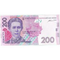 Украина, 200 гривен 2014 год.
