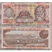 Распродажа коллекции. Гондурас. 10 лемпир 2010 года (P-86e - 2000-2010 Issue)