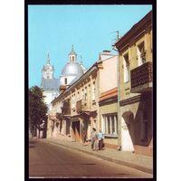 1992 год Гродно Улица старого города