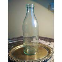 Бутылка молочная СССР, 1 литр, без сколов и трещин