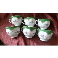 Чашки чайные ''Воспоминание'' Дулёво