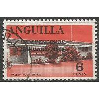 Ангилья. Почтамт. Надпечатка на #22. 1969г. Mi#58.