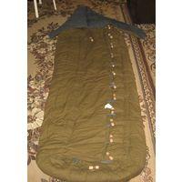 CCCР. Спальнй мешок для военных.Не использовался. Хлопок. Ватин. Синтетики нет!