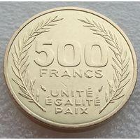 Джибути. 500 франков 1991 год  КМ#27