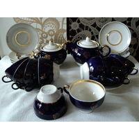 Чайный сервиз Городница 1970-2000гг.(кобальт 22 предмета)лот 10