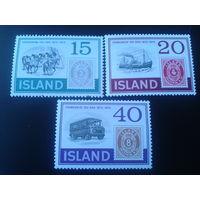 Исландия 1973 100 лет исландской марке