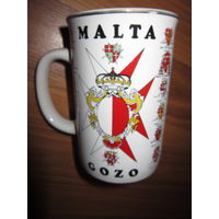 Кружка . Мальта . Герб