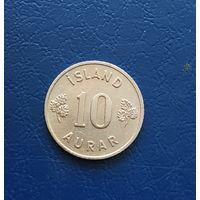 10 аурар 1958 Исландия