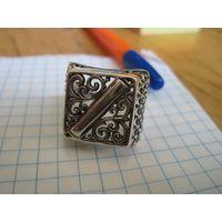 Печатка Кубачи 925 пр. 21 размера.