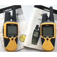 Две GPS радиостанции Garmin Rino 110, рации