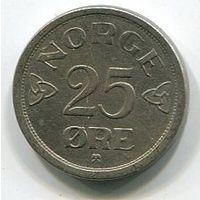 НОРВЕГИЯ - 25 ЭРЕ 1955