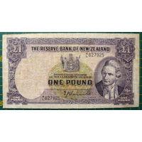 Новая Зеландия 1 фунт 1940-55 г.