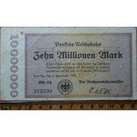 10 миллионов марок 1923г. Берлин