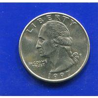 США 25 центов 1997