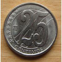 ВЕНЕСУЭЛА,25сенти2007г. Y# 91