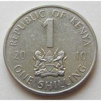 КЕНИЯ,1шиллинг2010г. KM#34
