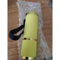 Ультрафиолетовый фонарик. Работает от 3 батареек ААА